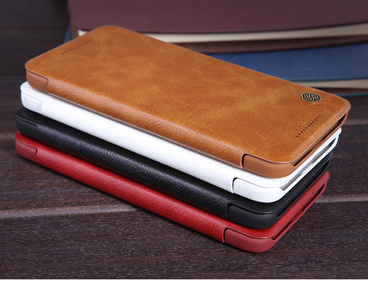 Original NILLKIN QIN Leather case For Google Nexus 6P Case+ Hight Qualidy Leather Case for Google Nexus 6P case