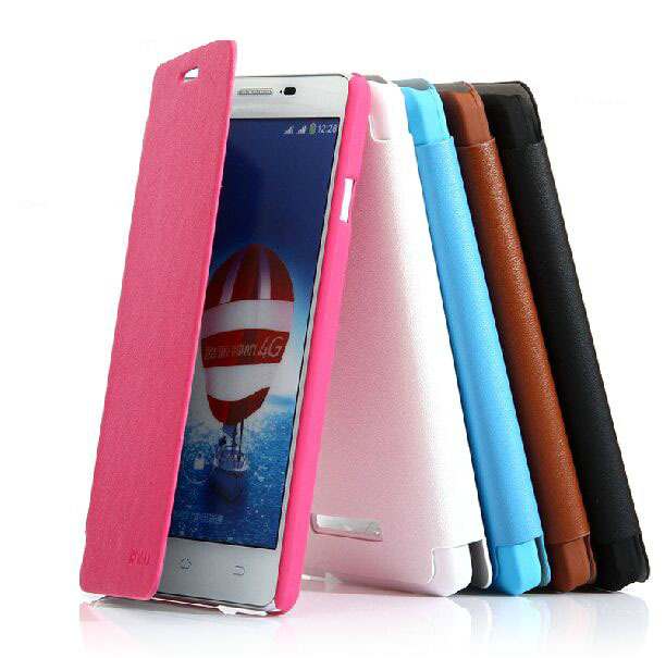 1PU Leather Ultra Slim phone Flip Case Cover Protective Shell Prestigio Grace psp7557 7557 - Online shopping discount boutiques store