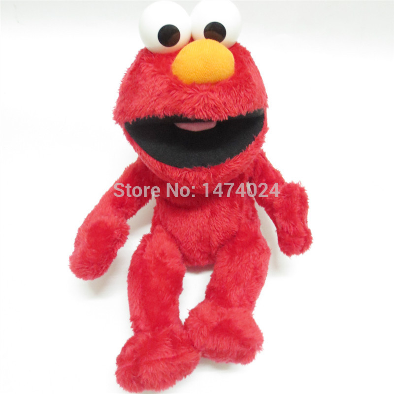 New Battery operated toy Electronicpet 32CMSesame Street elmo doll Puppet Plush Figure Christmas Gift Big Bird Baby alive Boneca(China (Mainland))
