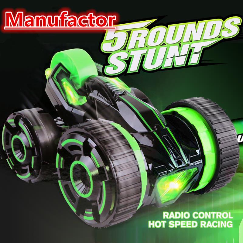 Free rc cars on radio control High speed rc cars small-rc-cars small-radio-control 5-Rounds Stunt Car 360-Spins 2-Side-Roll