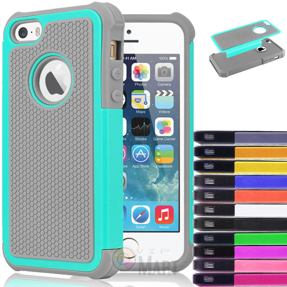 Hybrid Shockproof Hard Rugged Heavy Duty Cover Case Skin For Apple iPhone 5C(China (Mainland))
