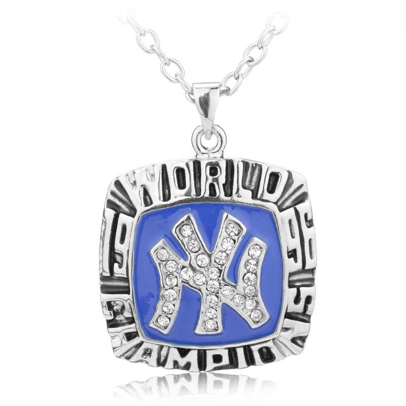 1996 New York City Champion Necklaces Pendants Major Baseball Championship Necklaces Classic Collection Jewelry(China (Mainland))
