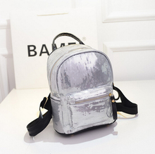 stacy bag hot sale new arrivals good quality girl small fashionable backpack kids baby mini Sequin travel bags(China (Mainland))