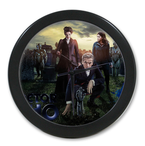 Original <font><b>Home</b></font> <font><b>Decoration</b></font> Customized Doctor Who <font><b>Elegant</b></font> Wall Clock Modern Design Watch Wall Free Shipping #LQ045