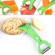 Random Color 1 PC Kitchen Tools Gadgets Helper Vegetable Fruit Peeler Parer Julienne Cutter Slicer(China (Mainland))