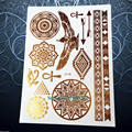 Black Henna Temporary Tattoo Sticker Waterproof Dreamcather Feather Tatoo For Women Body Art Dream Catcher Tattoo Stickers PH006
