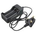 image for High Quality DIY Black Storage Box Holder Case For 4x 18650 3.7V Recha