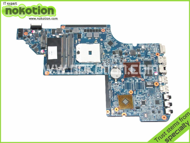 650853-001 laptop motherboard for hp pavilion dv6 dv6-6102ea main board DDR3 with ati hd6490 graphics 100% tested(China (Mainland))