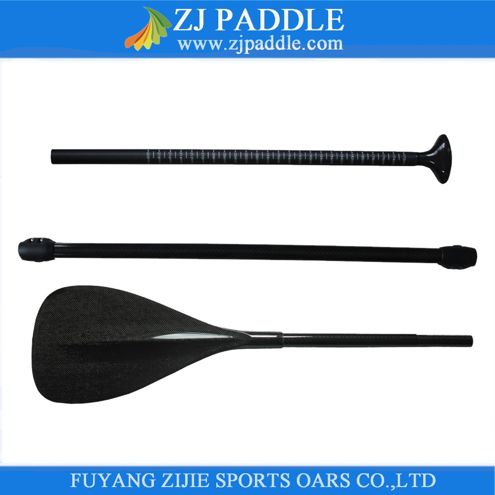 3-Piece Adjustable Carbon Fiber Stand Up Board Paddle/ SUP paddle(China (Mainland))
