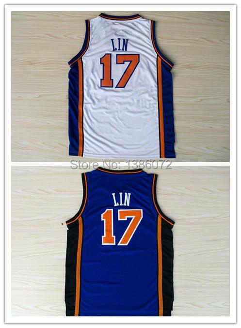 York #17 Jeremy Lin Basketball Jersey, Cheap New REV 30 Embroidery Logo Jersey - jerseys store