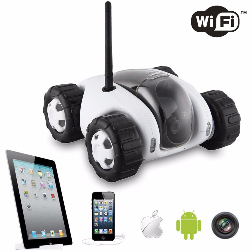 DWI Dowellin P2P Wifi Remote Monitoring rc car 720P High-definition IR night vision Photo taking and Video remote control Car(China (Mainland))
