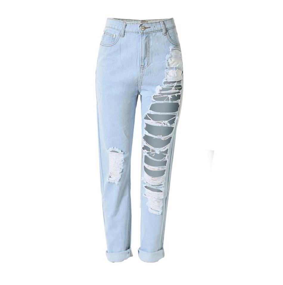 Excellent 2015NewFashionJeansWomenPencilPantsHighWaistJeansSexySlim