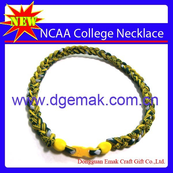 College Football Basketball Necklace Titanium Sports Necklace of Packers