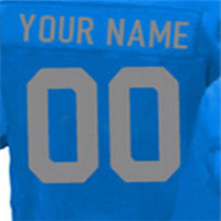 100% Stitched With Customized Men's #9 Matthew #15 Golden #20 Barry #21 Ameer #81 Calvin Elite Blue White Light Blue Football Je(China (Mainland))