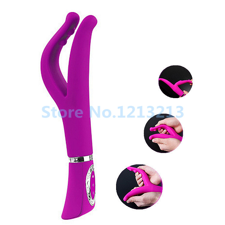 Pretty love 12 Speed Silicone Dual motors Massager Sex Products G Spot Clitoris Vibrators For Women Men Sex Toys For Couples<br><br>Aliexpress