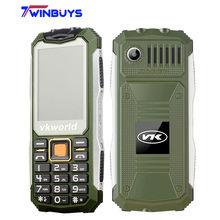 "VKworld Stone V3S Cell Phone 2.4"" Dual SIM Slot Bluetooth Daily Waterproof 21 Keys Mobile Phone Anti-Low Temperature 2G 2200mAh(Hong Kong)"