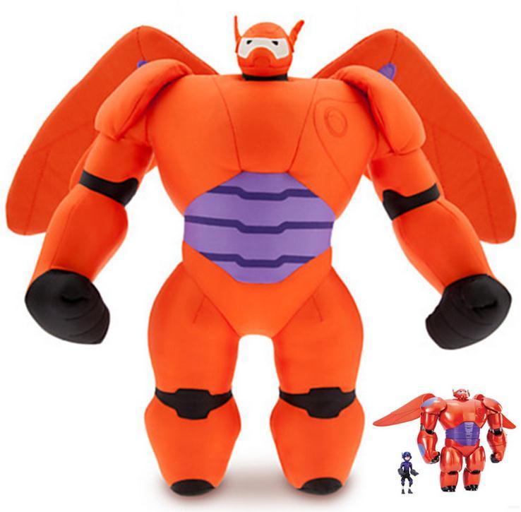 Disney big hero 6 Baymax Short plush Doll 40cm pendant Baby Stuffed Toy Kids Boys and girls(China (Mainland))