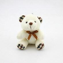 Crianças Brinquedos de Pelúcia Animais Urso Fofo 8 CM Popobe Urso de Peluche Bonito Brinquedos de Pelúcia Saco Keychain Chave Do Carro Titular para pingente Boneca B0750(China)