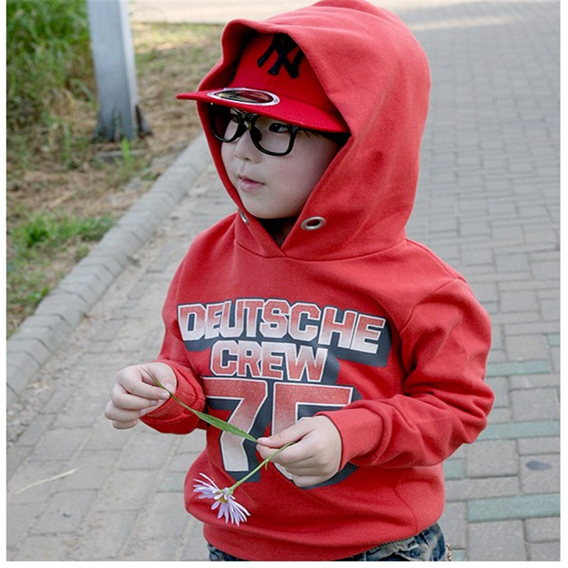 children outwear boy hoodies 2-7 years kids clothes long sleeves clothing spring&autumn hooded shirt baby girl - baby_mart store