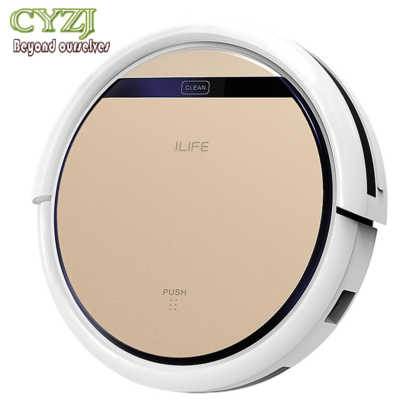 Chuwi Ilife V5S Intelligent Robotic Vacuum Cleaner Smart Remote Control 2 in 1 Dry Wet Sweeping Robot(China (Mainland))