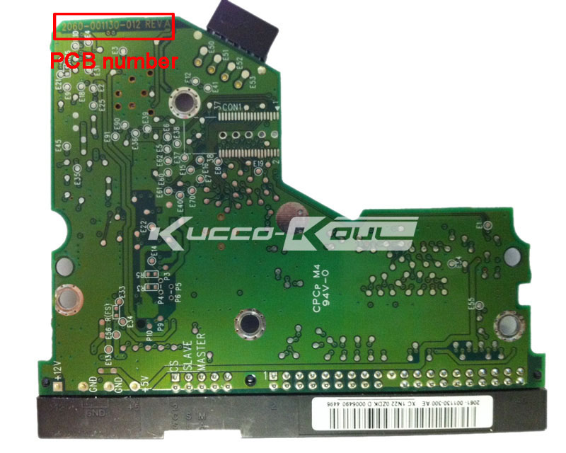 HDD PCB circuit board 2060-001130-012 REV A for WD 3.5 IDE/PATA hard drive repair data recovery(China (Mainland))
