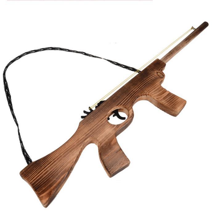 wood machine gun