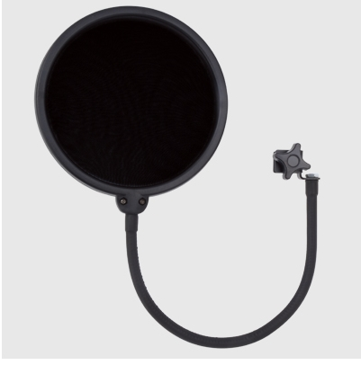 Isk Apf-1 Double Tape Microphone Cover Pop Filter Wind Blowout Preventer Cover Free Shipping(China (Mainland))