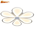 HGHomeart Fashion Petal Simple LED Ceiling Lights for The Hall Kids Bedroom Living Room Lamp Shine