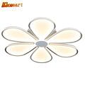 HGHomeart Fashion Petal Simple LED Ceiling Lights for The Hall Kids Bedroom Living Room Lamp Shine