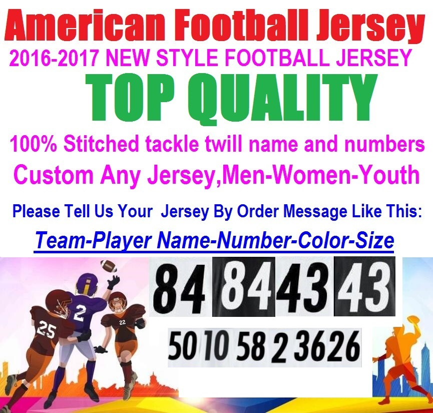 Custom American Football Jersey antonio michael vick Cheap Authentic Sports Jerseys Steelers brown Throwback USA Soccer Jersey(China (Mainland))
