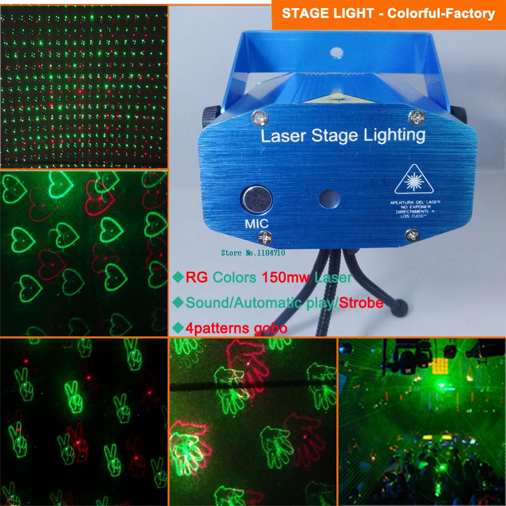 new red green heart 4 patterns Laser projector Holographic lighting dance Disco bar Party DJ effect Stage Light Show d114 free<br><br>Aliexpress
