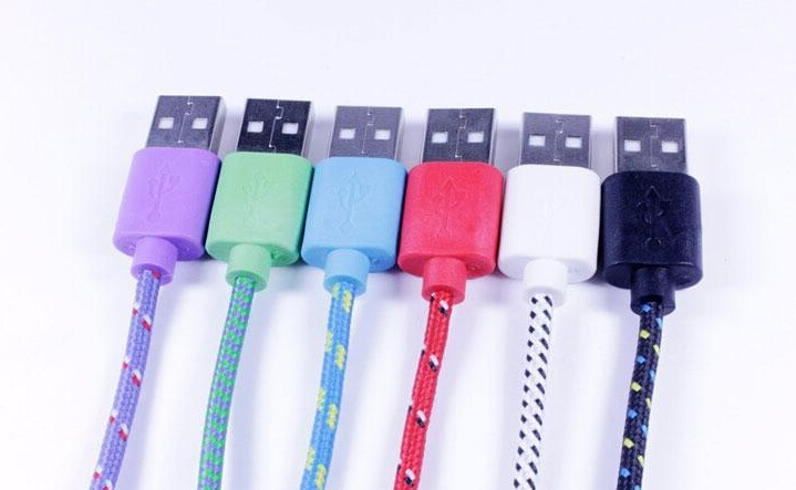 2m braided micro usb cable iphone5 5c 5s 6 plus Support ios 8 charger Sync Data Cable - Dragon Team store