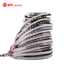 1m/4m/5m WS2812B 30/60/74/90/96/144 pixels/leds/m Smart led pixel strip,Black/White PCB,WS2812 IC;WS2812B/M ,IP30/IP65/IP67 DC5V(China (Mainland))