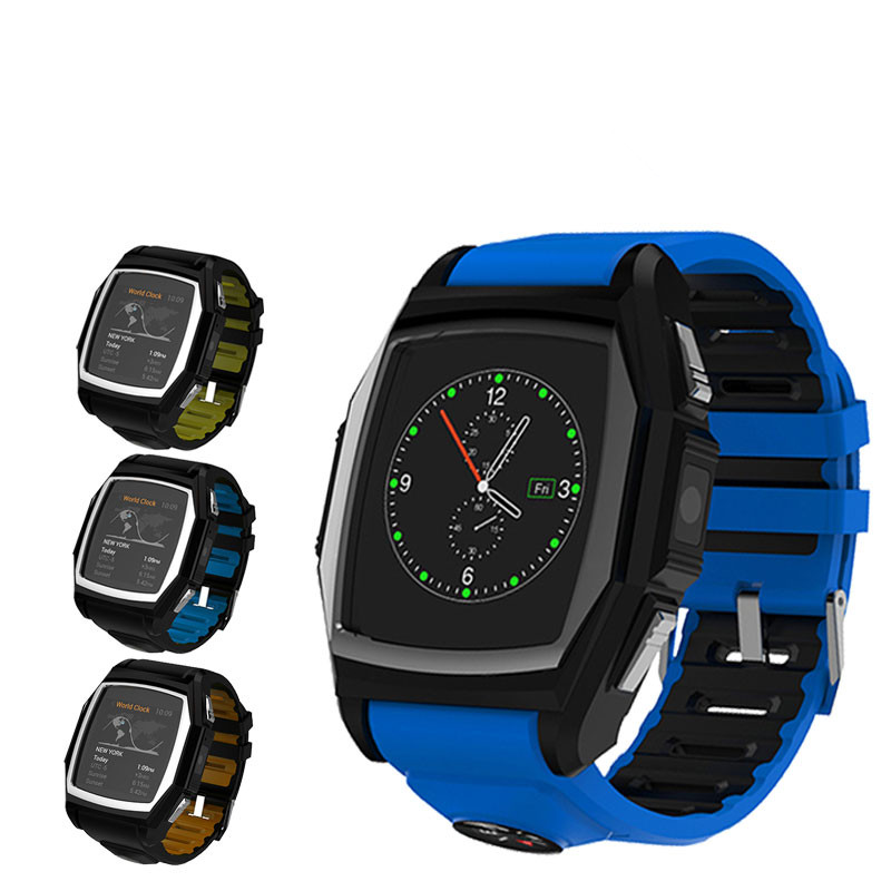 2016 New smart watch upscale hours IP57 waterproof watch phone bluetooth smartwatch heart rate monitor Smart Watches(China (Mainland))
