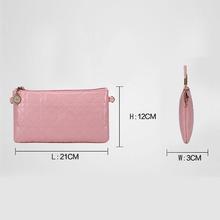 2016 Fashion lovely Envelope Clutch Candy Color Crossbody Bag Feminine Shoulder Bag Simple Women Bag