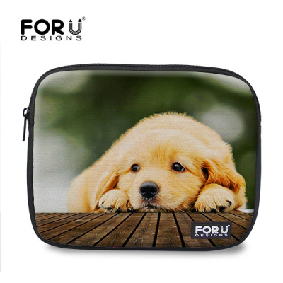 Unique Kawaii 3D Animal Cat Tablet PC Bag For 10 10.1 10.1 11 11.6 Cute Women Laptop Sleeve Computer Notebook Cover(China (Mainland))