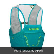Aonijie mochila leve correndo colete saco de náilon ciclismo maratona portátil ultraleve caminhadas 2.5l(China)