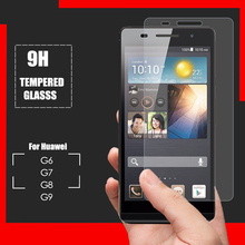 Tempered Glass Screen Protector for Huawei Honor G6 G7 Plus G8 G9 Phone Screen Protective Film Cover Protection