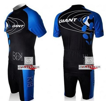 Free shipping! 2010-3 GIANT team cycling jersey and shorts / short sleeve jerseys+pants bike bicycle wear set COOL MAX