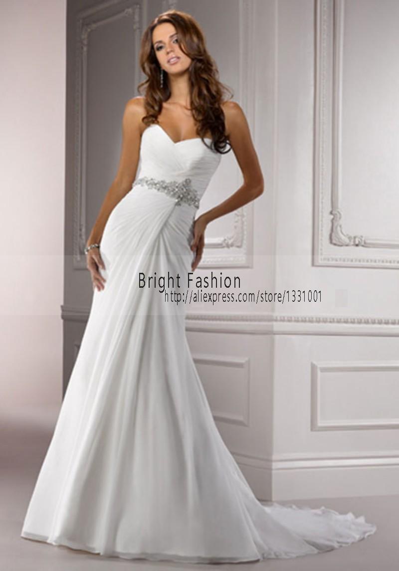 High fashion designer chiffon sexy wedding dresses 2016 for Sexy designer wedding dresses