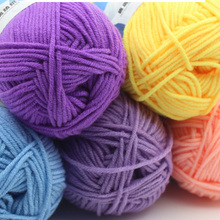 Buy Great Warm Soft Cotton Baby Knitting Wool Yarn Milk Cotton Thick Yarn Knitting Scarf Hand Knitting Crochet Yarn for $1.40 in AliExpress store