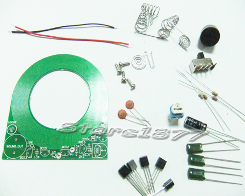 Metal Detector PCB Board Electronic DIY Components Kit For Coin,Stainless szsp17.