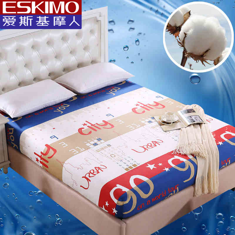 Buy 100 Cotton Cartoon Fitted Sheet Set Twin Full Queen Size Bedspread Mattress Protector Bed
