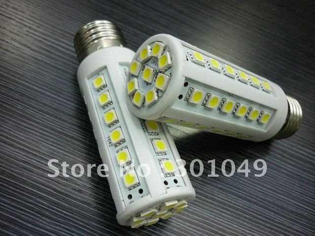 45-LED E27/E14 Corn Light Energy Saving Bulb Lamp Warm White 220v  6.7w