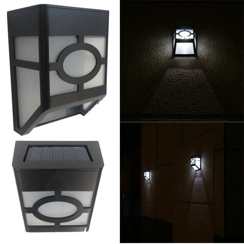 iluminacao de jardim energia solarWall Mount Outdoor Solar LED Lights