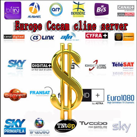 TL CCCam Cline Server for 1 Year Free Sky Germany Sky UK satellite receiver Beinsports support IKS CCCAM europe Cline account(China (Mainland))