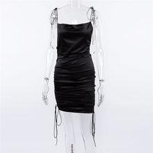 2019 été nouveau femmes épaule bandoulière dos nu Sexy mince robe tempérament mode marée marque robe Hh580(China)