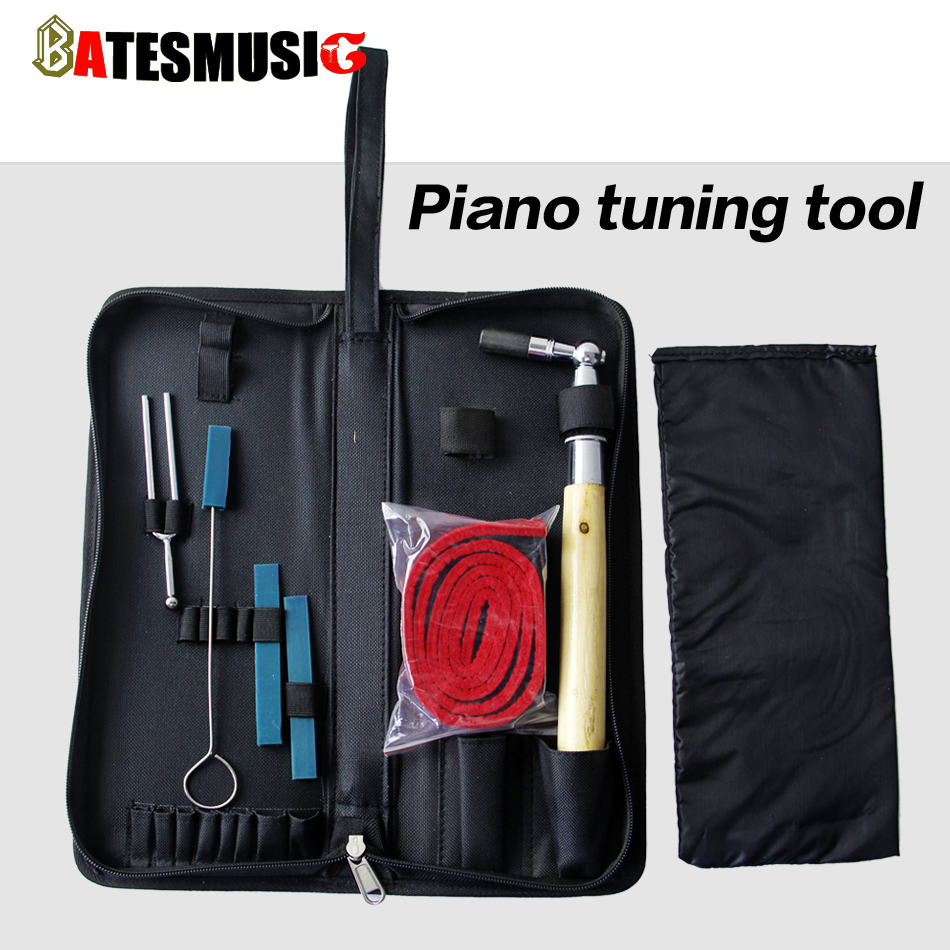 Piano Tuning Kit Tool Tune Pitch Hammer Rubber Key Piano Accessories(China (Mainland))