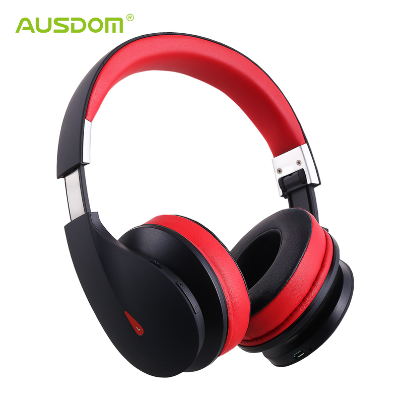 AUSDOM AH2 Bluetooth Headphone Wireless High Fidelity Powerful Bass Foldable Handsfree Headset Up to 20 Hours of Music Time<br><br>Aliexpress
