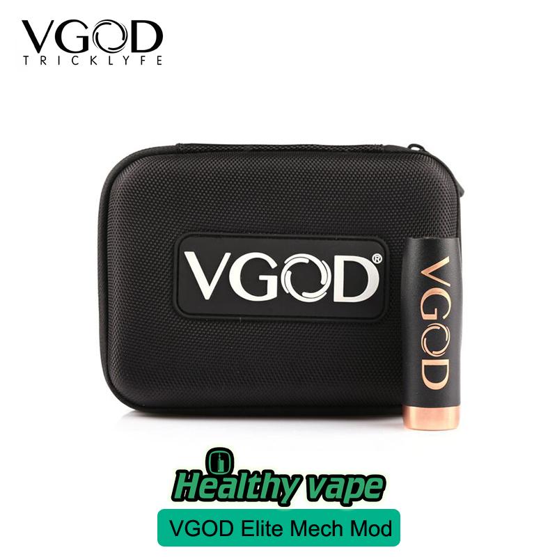 Presale E cigarette 100% Original VGOD Elite Series Mech Mod With Vgod Vapor Case Bag Kbag Vaporizer match With PRO DRIP RDA(China (Mainland))